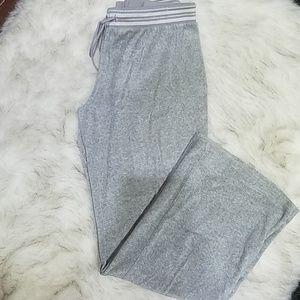 JUICY COUTURE- Wide Leg Velour Sweatpants